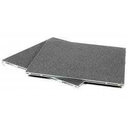 Pack de 2 plateaux 100 x 100 cm Moquette (2m2)