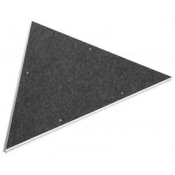 Plateau Triangle Moquette