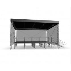 Couverture Scénique STR 8 x 6 m